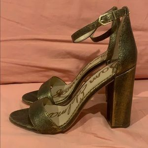 Sam Edelman Yaro ankle strap block heel sandal